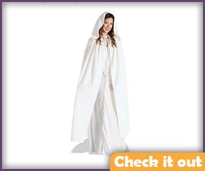 Arwen Costume White Cape.