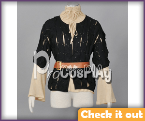 Arya Stark Costume Top Set.