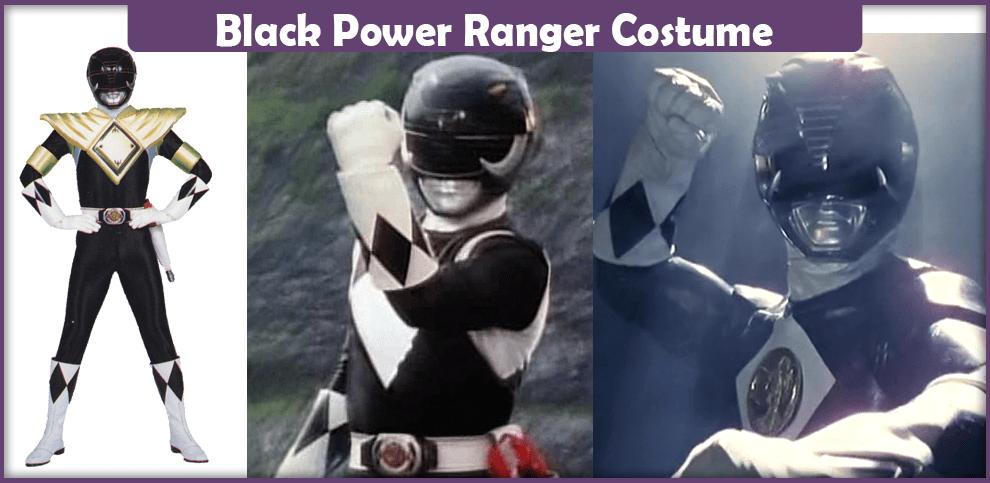 Black Power Ranger Costume – A DIY Guide