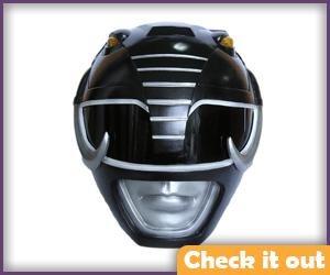 Black Ranger Helmet Replica.