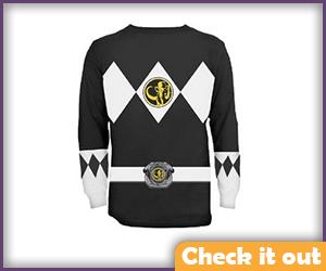 Black Ranger Long-Sleeve Shirt.