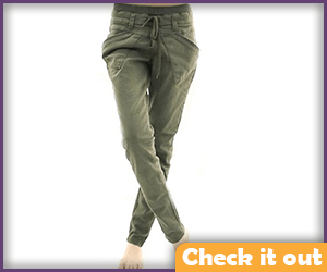 Army Green Pants.