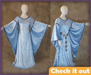 Cosplay Blue Dress.