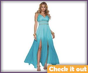 Blue Sexy Dress.