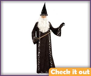 Dumbledore Costume Wizard Set.