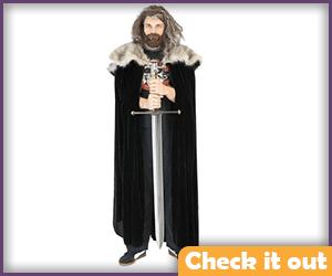 Eddard Stark Costume Cloak.
