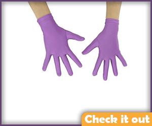 Violet Gloves.