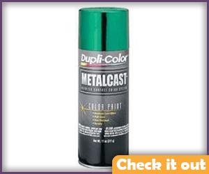 Green Metallic Spray Paint.