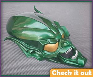 Green Goblin Costume Mask.