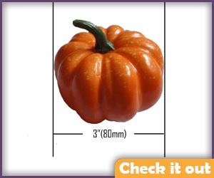 Small Plastic Pumpkin.