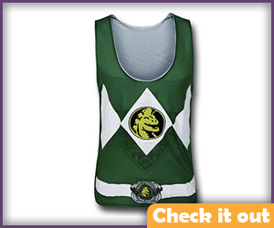 Dark Green Ranger Jersey.