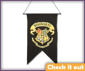 Hogwarts School Banner.