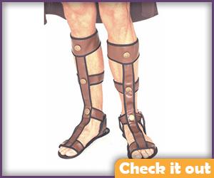 Brown Sandals.