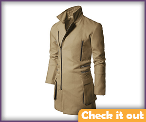Tan Trench Coat.