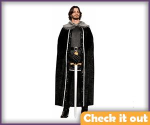 John Snow Costume Cloak.