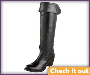 Black Cuff Boots.