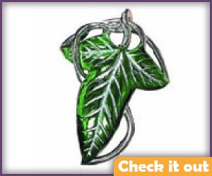 Legolas Costume Leaf Pin.