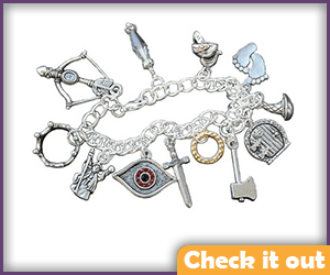 LOTR Charm Bracelet.