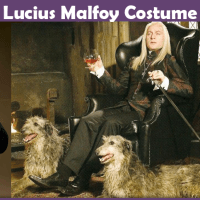 Lucius Malfoy Costume - A DIY Guide