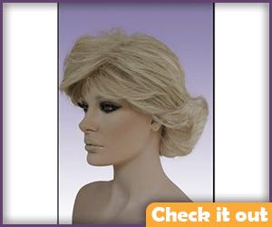 Blonde Wig.