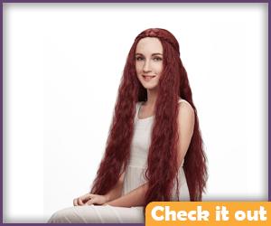 Melisandre Costume Wig.