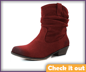 Melisandre Costume Red Bootie Boots.