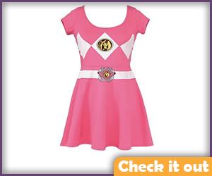 Pink Skater Dress.
