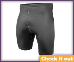 Black Compression Shorts.