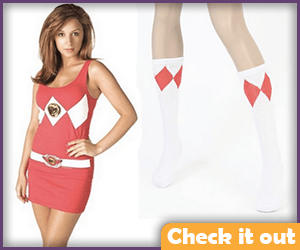 Red Ranger Dress.
