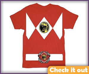 Red Ranger Tee.