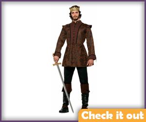 Renly Baratheon Costume Deluxe Set.