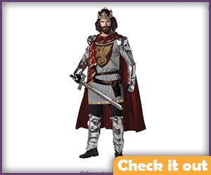 King Armor Costume.