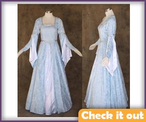 Sansa Stark Costume Blue Dress.