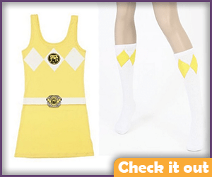 Yellow Ranger Dress.