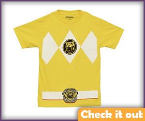 Yellow Ranger Costume Tee.