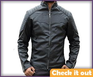 Christian Bale Leather Jacket.