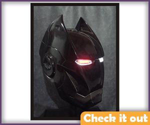 Iron Bat Wearable Helmet.