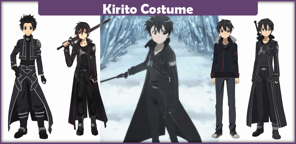 Sword Art Online Costume, Kirito