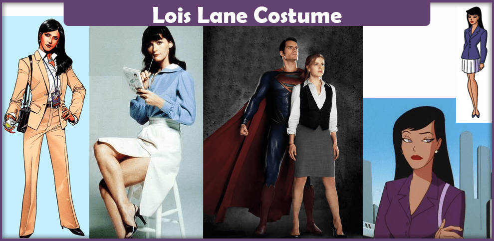 Lois Lane Costume A Diy Guide Cosplay Savvy
