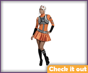 X-Wing Pilot Female Costume.