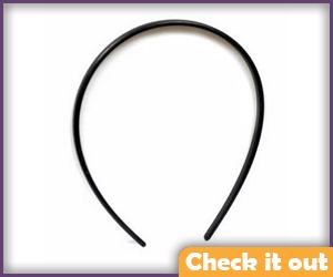 Black Headband (for Horns).