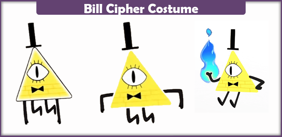 Bill Cipher Costume – A DIY Guide