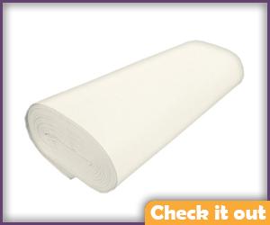 White Felt Fabric (for eye).