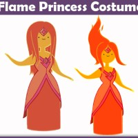 Flame Princess Costume - A DIY Guide