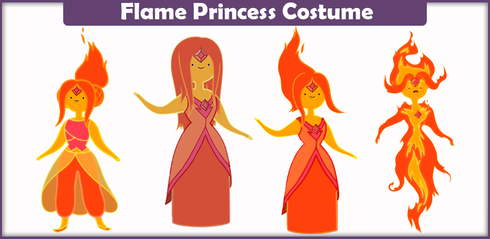Flame Princess Costume