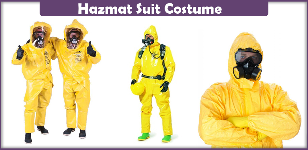 Hazmat Suit Costume – A DIY Guide