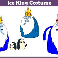 Ice King Costume - A DIY Guide
