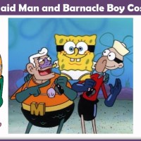 Mermaid Man and Barnacle Boy Costume - A DIY Guide