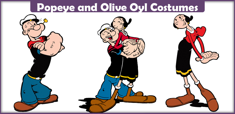 Popeye and Olive Oyl Costumes – A DIY Guide