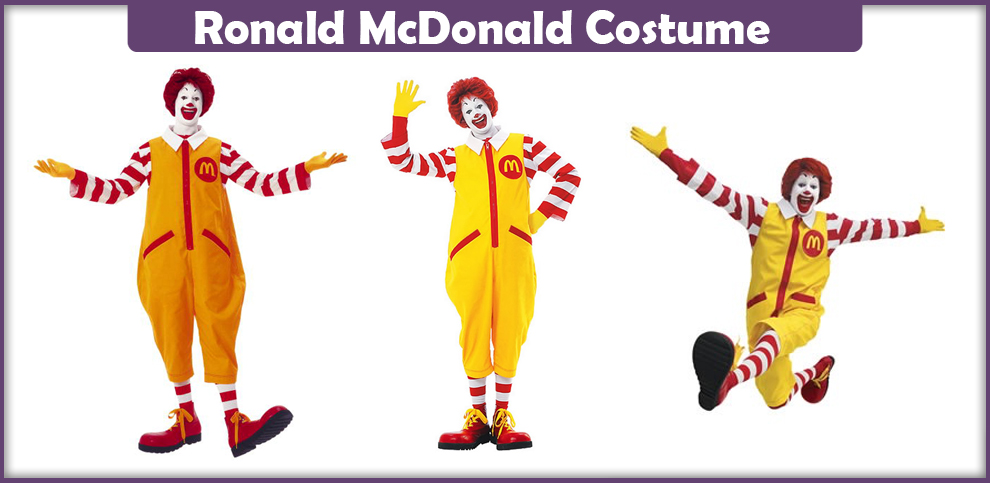Ronald McDonald Costume – A DIY Guide